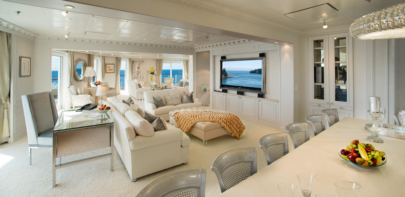 Luxury Private Residences At Sea The World